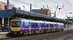 185128 Doncaster 20/04/2012 (Flash_3939) Tags: uk train yorkshire first railway april 2012 doncaster tpe transpennine eastcoastmainline dmu ecml dieselmultipleunit desiro class185 firsttranspennineexpress 185128