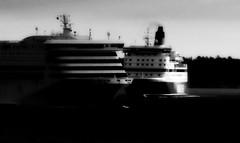 (blazedelacroix) Tags: two black dark nikon noir ships cinematic