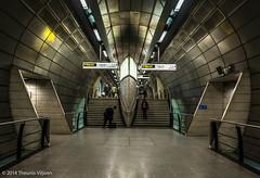 Southwark Underground - II (Theunis Viljoen LRPS) Tags: london station soutwarkunderground