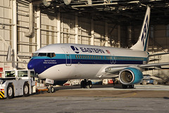 5Y-KYB / N276EA  B737-8AL  Eastern Air Lines (n707pm) Tags: ireland airplane airport painted aircraft boeing eastern relaunch coclare b737 737800 easternairlines snn shannonairport einn 5ykyb eirtechaviation cn35070 04112014 n276ea