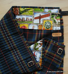 MacLately tartan to the green line