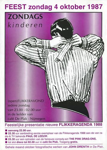 1987 Zondagskinderen in café De Plak