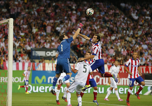 ATLETICO DE MADRID - REAL MADRID  SUPERCOPA