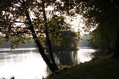 little isle in the lake (verabellapiccolachiaragloria) Tags: park pond beginningofautumn