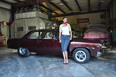 "1965 Chevelle Photo Shoot With Candace • <a style=""font-size:0.8em;"" href=""http://www.flickr.com/photos/85572005@N00/15320250807/"" target=""_blank"">View on Flickr</a>"