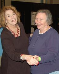 Kathy McGee Burns & Kris Higgins