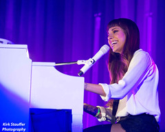Christina Perri @ Xfinity Arena (Kirk Stauffer) Tags: show seattle lighting portrait musician music woman usa brown cute girl beautiful smile smiling female hair hearts lights us photo washington amazing concert nikon women perfect long pretty tour singing sweet song live christina stage gorgeous young band piano adorable pop arena wash singer indie stunning jar wa brunette lovely bangs venue darling vocals kirk petite everett stauffer perri lovable d4 of xfinity christinaperri kirkstauffer
