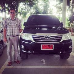 #TOYOTA #เติมความสุข #ทุกสัมผัส การส่งมอบรถยนต์ใหม่ #HILUX #VIGO CHAMP ผู้ครอบครอง เฉลิมพล บุญชู ด้วยใจเดียวกันที่เชื่อมบริการให้เป็นมาตรฐานหนึ่งเดียว ** โปรดตรวจสอบราคา / โปรโมชั่น กับผู้แทนจำหน่ายใกล้บ้านท่าน #TOYOTA #ขับเคลื่อนความสุข LINE User ID than