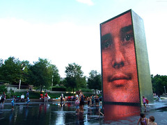 "Kids below Crown Fountain • <a style=""font-size:0.8em;"" href=""http://www.flickr.com/photos/34843984@N07/15353381919/"" target=""_blank"">View on Flickr</a>"