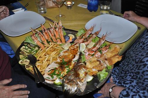 Dinner at Lo Sfizio (Porto Santo Stefano)