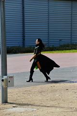 Why You So Serious? (Smith-Bob) Tags: street ladies people woman anime lady female comics dc costume women comic boots cosplay good candid bad manga evil melbourne hero loki superhero comicbooks armageddon heroes superheroes marvel villain comiccon villains crossplay crosplay femaleloki herosvillains