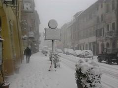 Ronciglione sotto la neve nel 2005