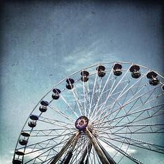 Riesenrad. | Big wheel.  #Riesenrad #Rummel #bigwheel #enjoy #autumn #fall #herbst2014 #herbst #fairground #hooray #hoorayfortoday #igfun #ignice #worlderlust #travel #travelblog #travelingram #traveltheworld