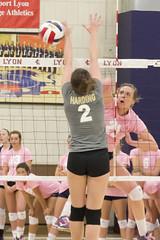 DJT_4055 (David J. Thomas) Tags: college sports athletics women volleyball arkansas bison scots naia batesville hardinguniversity lyoncollege