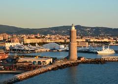 The Lighthouse of Livorno (Stuart Axe) Tags: italy lighthouse port docks dock marine italia maritime tuscany livorno leghorn portodilivorno lighthouseoflivorno