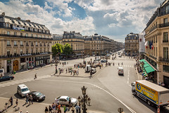Avenue de l'Opra (IceNineJon) Tags: street city travel paris france photography europe ledefrance places opra palaisgarnier avenuedelopra canon5dmarkiii 5dm3