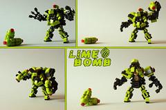 Lime Bomb (Devid VII) Tags: boy robot war lego space military bad suit lime suite bomb mecha mech moc hardsuit devid foitsop devidvii