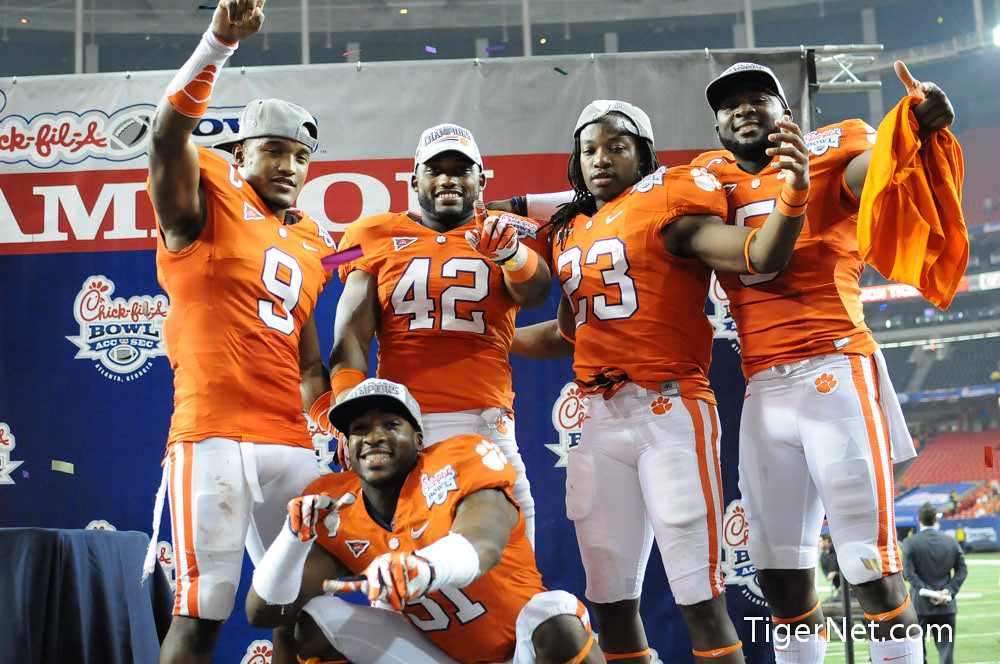 Clemson Photos: 2012, Andre  Ellington, Bowl  Game, Corico  Wright, Football, Jonathan  Meeks, lsu, Rashard  Hall, Xavier  Brewer