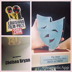 Congrats again to our favorite Louisiana Film Prize Top 20 entry in the New Orleans Film Festival Angel of Joy (featuring Best Actress Chelsea Bryan). Hope the screening was all that you wanted it to be and we look forward to getting you guys back for Fil