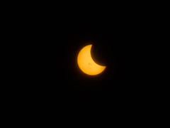 Partial Solar Eclipse from San Francisco October 23, 2014 (Anthony Quintano) Tags: sun eclipse space lunar partial solareclipse