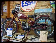 Royal Enfield (cscarlet41) Tags: classic museum vintage lumix transport hampshire device panasonic motorcycle restored legend royalenfield sammymiller newmilton lowergallery dmcg5 bh255sz bashleycrossroads
