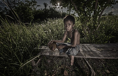 20140504-MIA_8340a (yaman ibrahim) Tags: morning boy sunrise kid malaysia rooster sabahan maiga