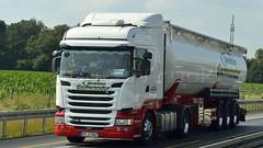 D - Gschwander Scania R09 450 HL Streamline (BonsaiTruck) Tags: silo camion trucks scania streamline bulk lorries lkw spitzer citerne powdertank gschwander