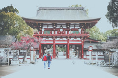 Dazaifu - Fukuoka (Photographer Paulinho Faria) Tags: travel family winter vacation people holiday familia japan train pessoas asia dream frias paz martialarts jardim templos kurume japo jiujitsu fukuoka avio trem inverno sonho buda jardins japoneses brasileiros budismo dazaifu jud artesmarciais karat outroladodomundo terradosol templosjaponeses templodazaifu