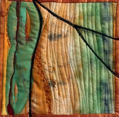 October Journal Quilt (Deborah O'Hare) Tags: embroidery textileart artquilt journalquilt machinestitching handstitching journalquilts artquilting