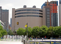 UPS NEW YORK (tony.evans) Tags: park city nyc newyorkcity sea usa ny newyork castle church ferry museum brooklyn america port river volkswagen subway us marine time harbour fort manhattan library taxi aviation unitedstatesofamerica worldtradecenter union rockefellercenter nypd un maritime unitednations concorde intrepid guggenheim empirestatebuilding statueofliberty wallstreet statenisland rockefeller grandcentral georgewashington unionsquare flatironbuilding governorsisland highline novotel ussintrepid newyorkislandcruise newjerseynewyorkislandcruise
