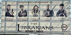 The Librarians TV Show (Mike Rogers Pix) Tags: startrek starwars alien harrypotter ironman jaws jessicarabbit weta killerclowns blacula deadpool bigbangtheory maarvelcomics newyorkcomiccon2014