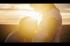 Soon (Boris Untereiner) Tags: sunset portrait orange baby sun yellow couple head pregnancy maternity parent 500px ifttt