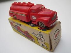 LEGO 1:87 trucks overview (jeroenvandorst) Tags: old vintage bedford mercedes lego shell ho 187 esso interfrigo