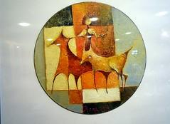 beschilderde grammofoonplaten (dietmut) Tags: paintings schilderen lps 2014 panasoniclumix beschilderd grammofoonplaten dmcfx500 junijune yourfavorites106