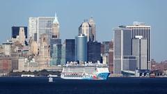 NYC005 (Mongrel Horde) Tags: nyc newyorkcity cruise newyork skyline manhattan cruising norwegian cruiseship breakaway ncl cruiseliner petermax celebritycruises norwegiancruiseline celebritysummit canadanewenglandcruise norwegianbreakaway
