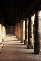(Doodles N' Dabbles) Tags: italy ancient ruins roman columns aisle pompei