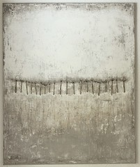 Bild_1437_interrupted_diimensions_110_90_2_cm_mixed_media_plant_on_canvas_2014 (ART_HETART) Tags: white abstract art texture painting grey contemporary structure canvas colorfield hetzel colorfiled christianhetzel