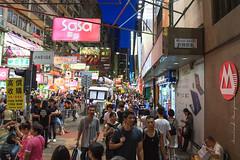 Busy Nelson Street - Hong Kong (Arvind Manjunath) Tags: city hongkong canon5d kowloon 2014 thomsonreuters arvindmanjunath motofotog