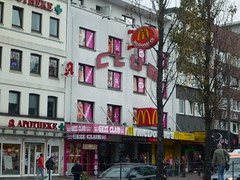 Hamburg Reeperbahn McDonalds (LakeRidge Photography) Tags: old classic germany downtown district hamburg mcdonalds redlight stpauli reeperbahn sexclub