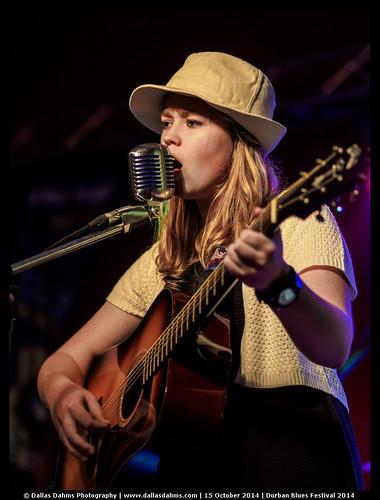 Cindi Kritzinger @ Durban Blues Festival 2014