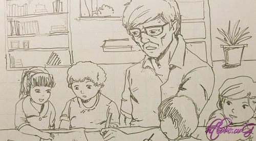 Người thầy… vẫn lặng lẽ đi về sớm trưa