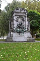 Monument voor Charles De Coster, Elsene (Erf-goed.be) Tags: geotagged brussel elsene gedenkteken archeonet charlesdecoster geo:lat=508271 geo:lon=43717