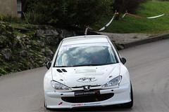 Peugeot 206 (alex73s https://www.facebook.com/CaptureOfAlex?pnr) Tags: auto white car french automobile european francaise 206 voiture des coche blanche macchina peugeot rallye 2014 bauges