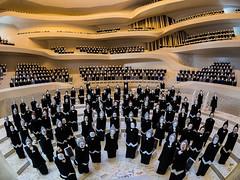Miniature Grand Hall (Ulrich Neitzel) Tags: architecture model audience interior hamburg fisheye architektur modell hafencity concerthall publikum elbphilharmonie konzertsaal olympusomd walimex75mm