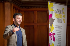 Alex Bellos (Mark Carline) Tags: cheshire chester maths alexbellos chesterlitfest