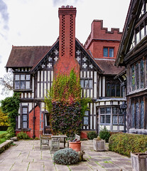 Wightwick Manor (TheDavePhotoAlbum) Tags: crafts arts manor nationaltrust hdr williammorris wightwick