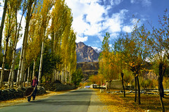 The Highway to Heavens (NotMicroButSoft (Fallen in Love with Ghizar, GB)) Tags: autumn water river lakes ghizar phandar gupis khalti gilgitbaltistan