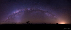 Outback Milky Way (R. Francis) Tags: panorama stars outback universe milkyway mountisa outbackqueensland northwestqueensland seeaustralia thisisqueensland mountguide