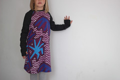 Field Trip Raglan Dress (sweetkm1) Tags: trip girl field kids oliver dress handmade sewing knit shift tshirt s clothes week hack raglan sleeve thumbhole