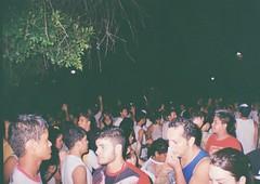 (iamtheatombomb) Tags: street city light party people tree film night 35mm kodak flash streetphotography nightlife analogue kodakfilm filmphotography myeverydaylife criodenazar filmisnotdead fritztheblitz